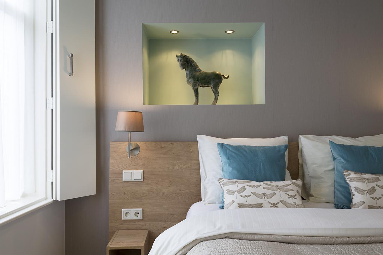 Haarlem hotelsuites haarlem - Slaapkamer hout ...